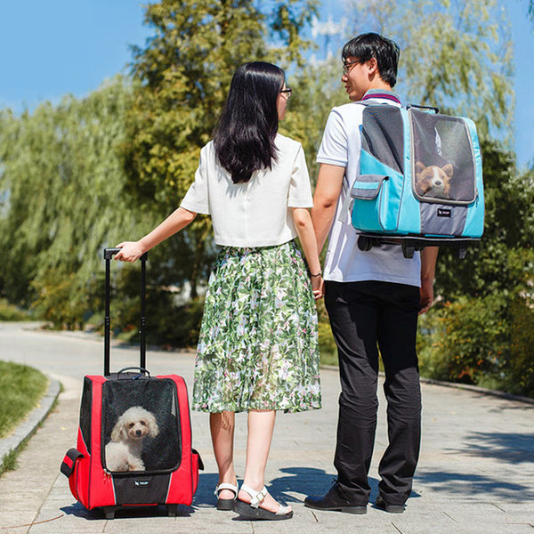 Small Pet Wheel Carrier for Dogs