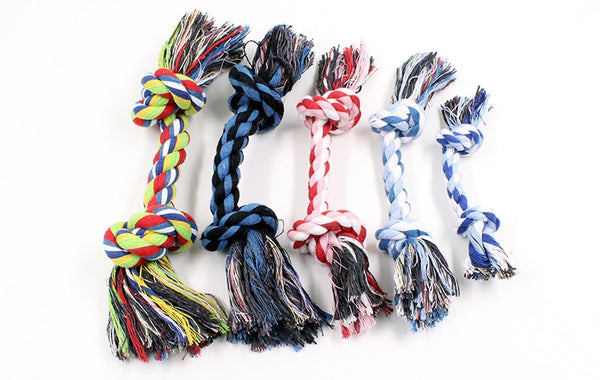 Cotton Knot Rope Chew Toy