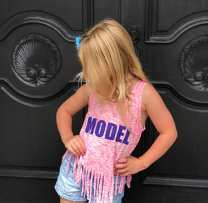 Model Splatter Fringe tank