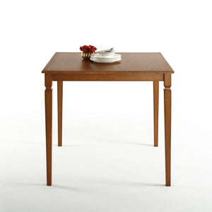 square wood dining tables. Modren Dining Square 39 X Inch Counter Height Brown Wood Dining Table In Tables