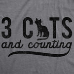 3 Cats And Counting Women's Tshirt