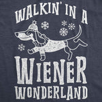 Walkin In A Wiener Wonderland Men's Tshirt
