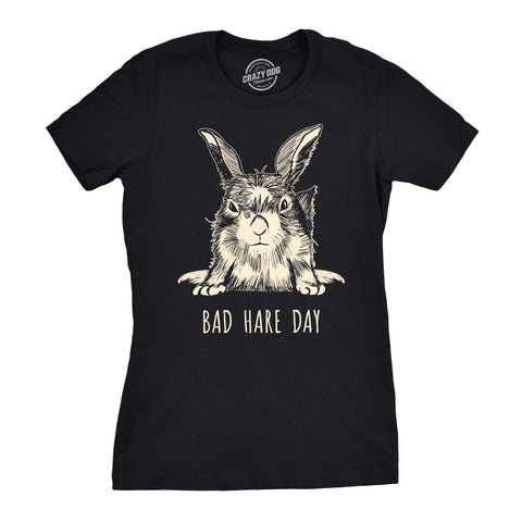 Bad Hare Day Women's Tshirt