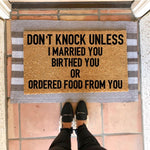 Don't Knock Premium Doormat