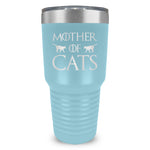 Mother Of Cats Ringneck Tumbler