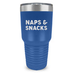 Naps And Snacks Ringneck Tumbler