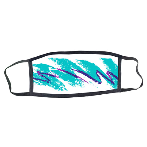 90s Jazz Cup Pattern Face Mask