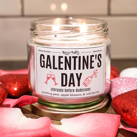 Galentine's Day Valentine's Day Candle