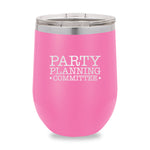 Party Planning Committee Stemless Wine Cup