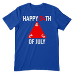 Happy D4th Of July Apparel
