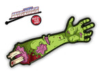 Dead Waving Zombie Arm Wiper Blade Decal
