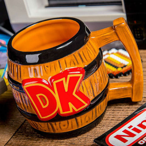 Donkey Kong Barrel Shaped Mug