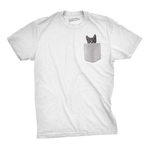 Pocket Cat Men's T-Shirt