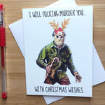 Friday The 13th Jason Christmas Card