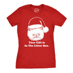 Gift Is In The Litter Box Women's Tshirt