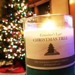 Grandma's Last Christmas Tree Funny Scented Holiday Candle