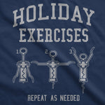 Holiday Exercises Women's Tshirt