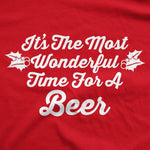 It's The Most Wonderful Time For A Beer Men's Tshirt