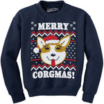 Merry Corgmas Ugly Christmas Sweatshirt