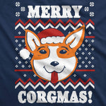 Merry Corgmas Ugly Christmas Sweater Men's Tshirt