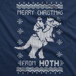 Merry Christmas From Hoth Men's Tshirt