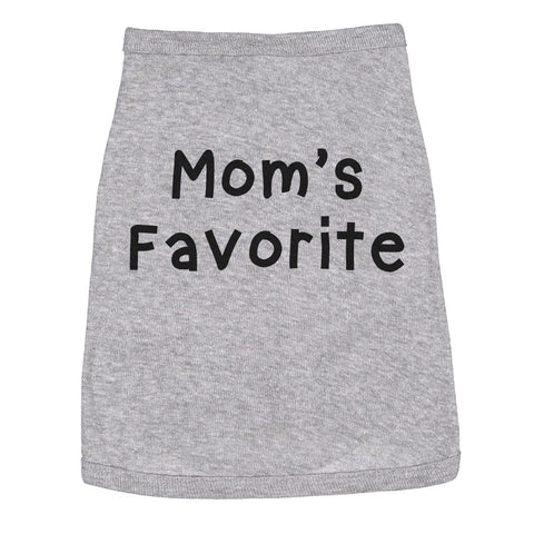 Mom's Favorite Dog Shirt