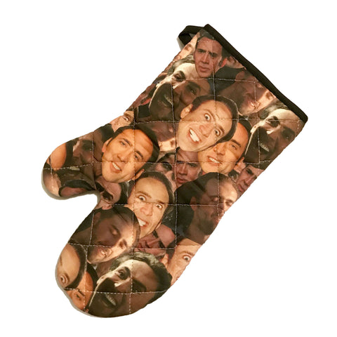 Nic Cage Inspired Oven Mitt