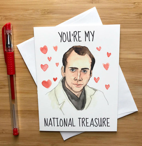 Nic Cage Valentine's Day Card