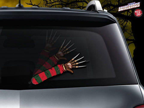 Freddy Krueger Nightmare Arm Wiper Blade Decal