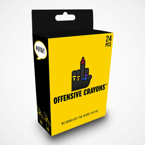 Offensive Crayons 24 Pack