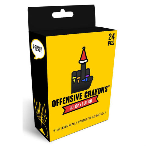 Offensive Crayons Holiday Edition