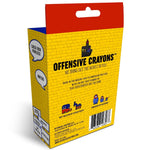 Offensive Crayons Political Version 24 Pack- Red White & Fck You
