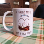 Rick & Morty Pickle Rick Mug