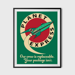 Planet Express Poster 18 x 24