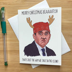 Prison Mike Funny Christmas Card