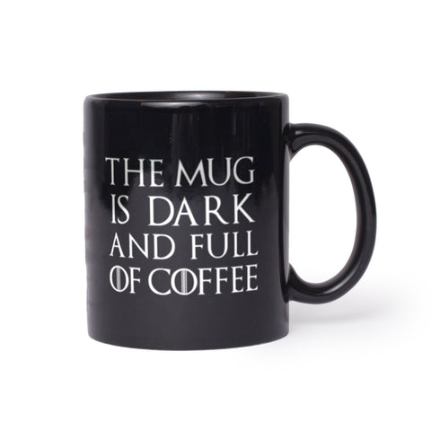 The Mug Is Dark And Full Of Coffee Mug 11oz
