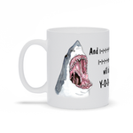 I Will Always Love You Shark Mug (Sharkney Houston)
