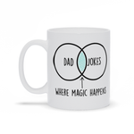 Dad Jokes Father's Day Mug