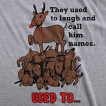 Rudolph The Psychopath Reindeer Men's Tshirt