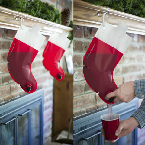 Santa Stocking Flask