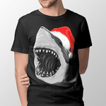 Santa Jaws Men's Tshirt