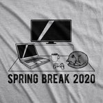 Spring Break 2020 Quarantine Men's Tshirt