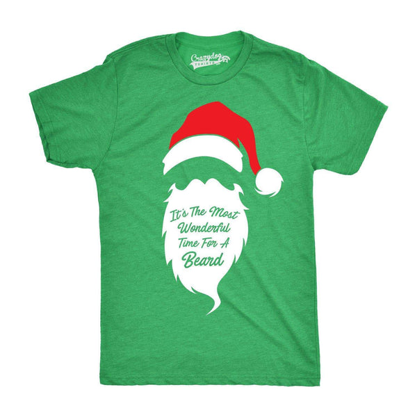 Most Wonderful Time For a Beard Men's Tshirt