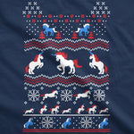 Unicorn Ugly Christmas Sweater Women's Tshirt