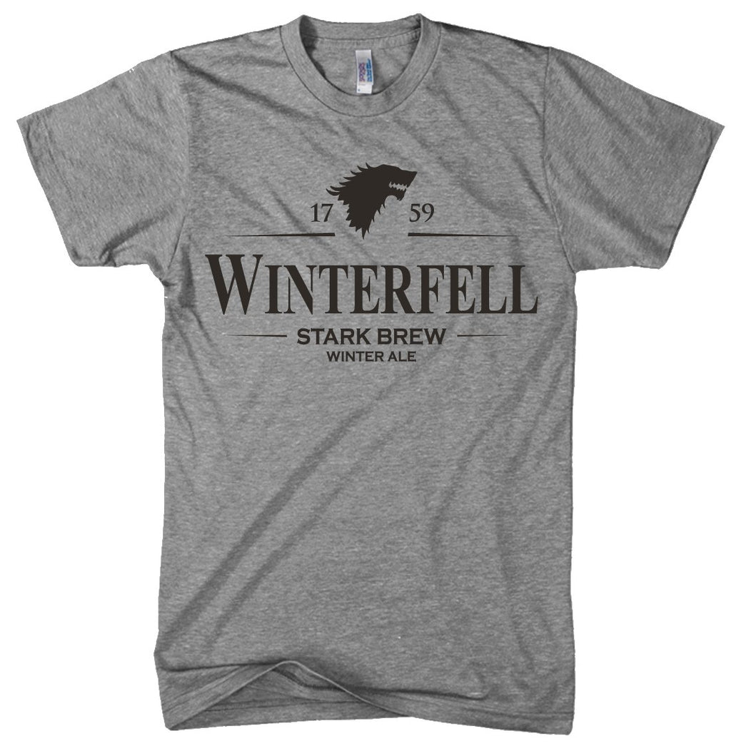 T Winterfell Craft Tee Beer Shirt Television Funny Winter Ale vnNwm08O