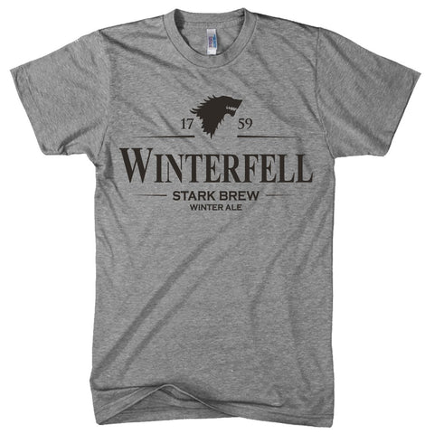 Winterfell Winter Ale T-Shirt Funny Television Craft Beer Tee
