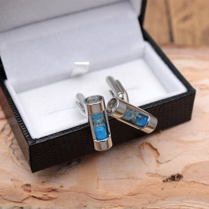 Sandy Clock Cufflinks
