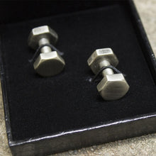 Load image into Gallery viewer, Agonal Screw Cufflinks