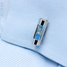 Load image into Gallery viewer, Sandy Clock Cufflinks