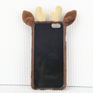 Plush Reindeer iPhone Case